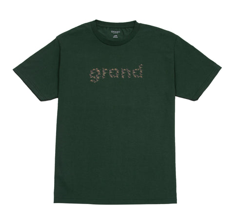 Grand Geese Tee Forest Green