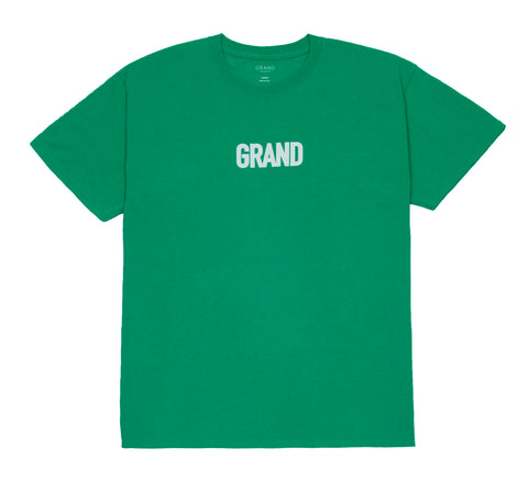 Block Tee Kelly Green