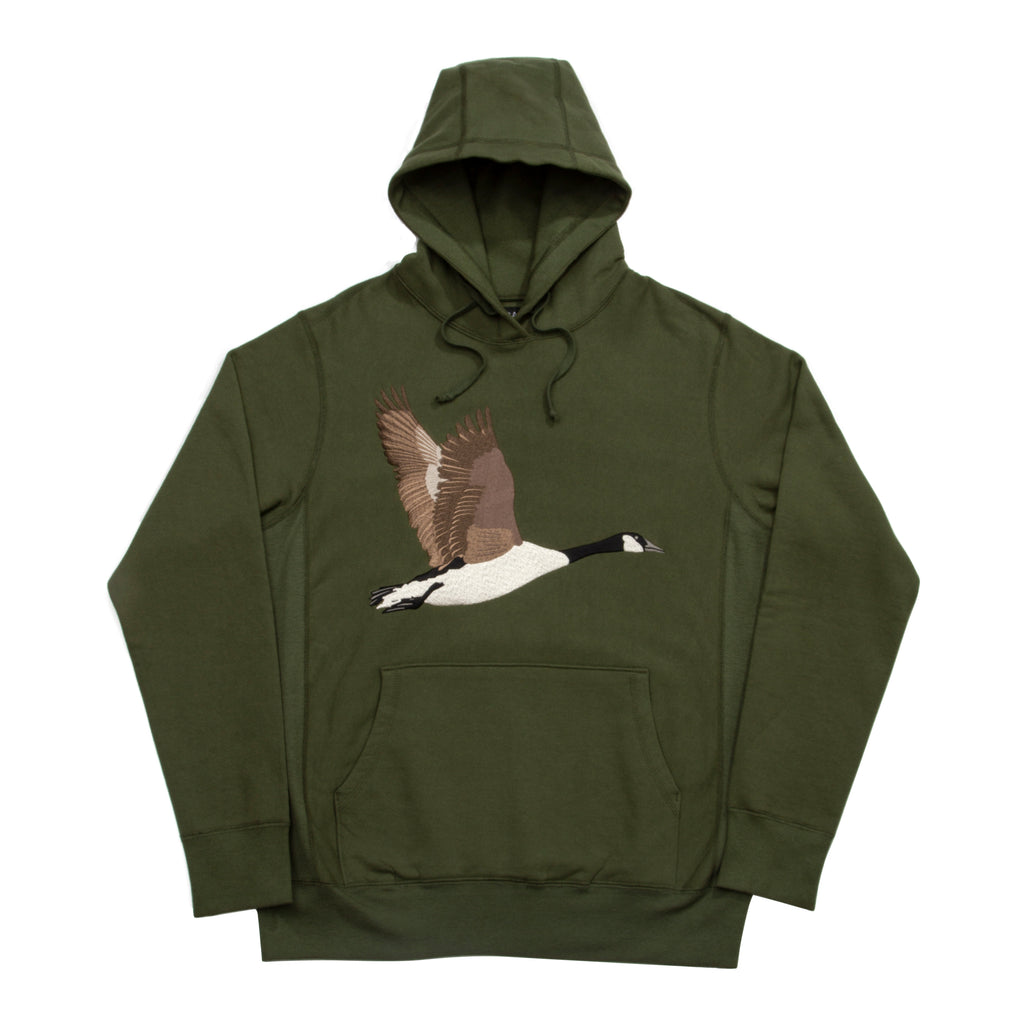 Goose Souvenir Embroidered Hoodie