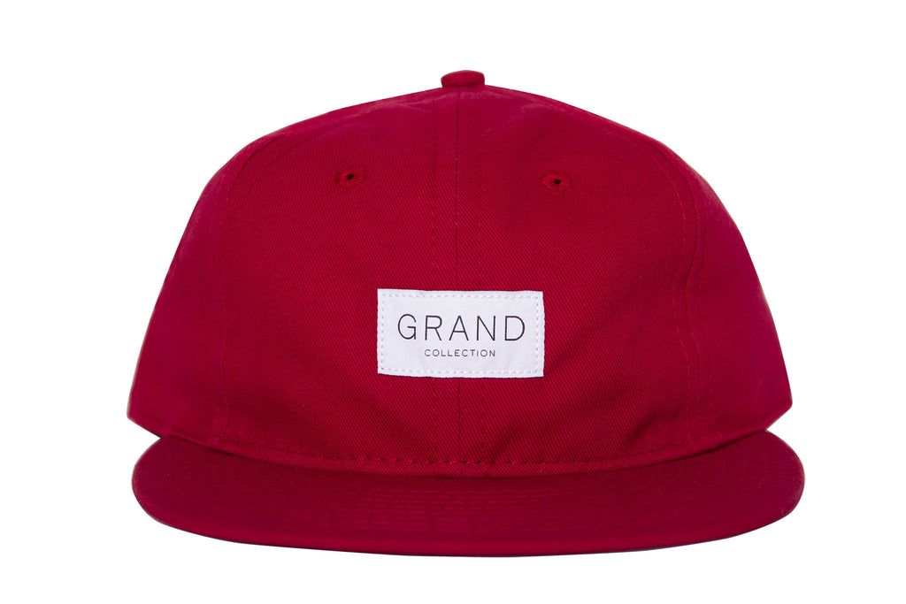 Grand Collection X Ebbets Field Cap Red