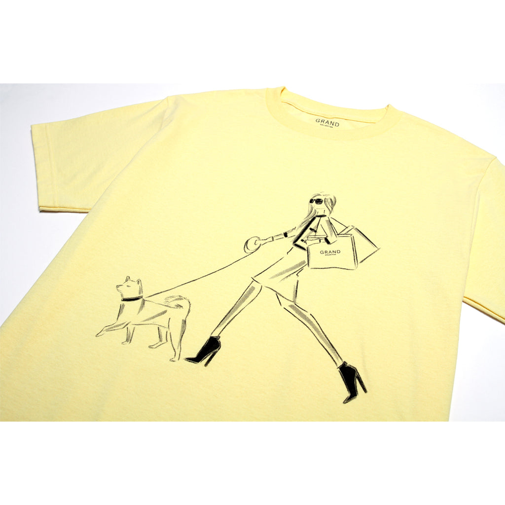 5th Avenue Tee Light Yellow