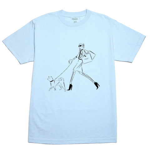 5th Avenue Tee Powder Blue