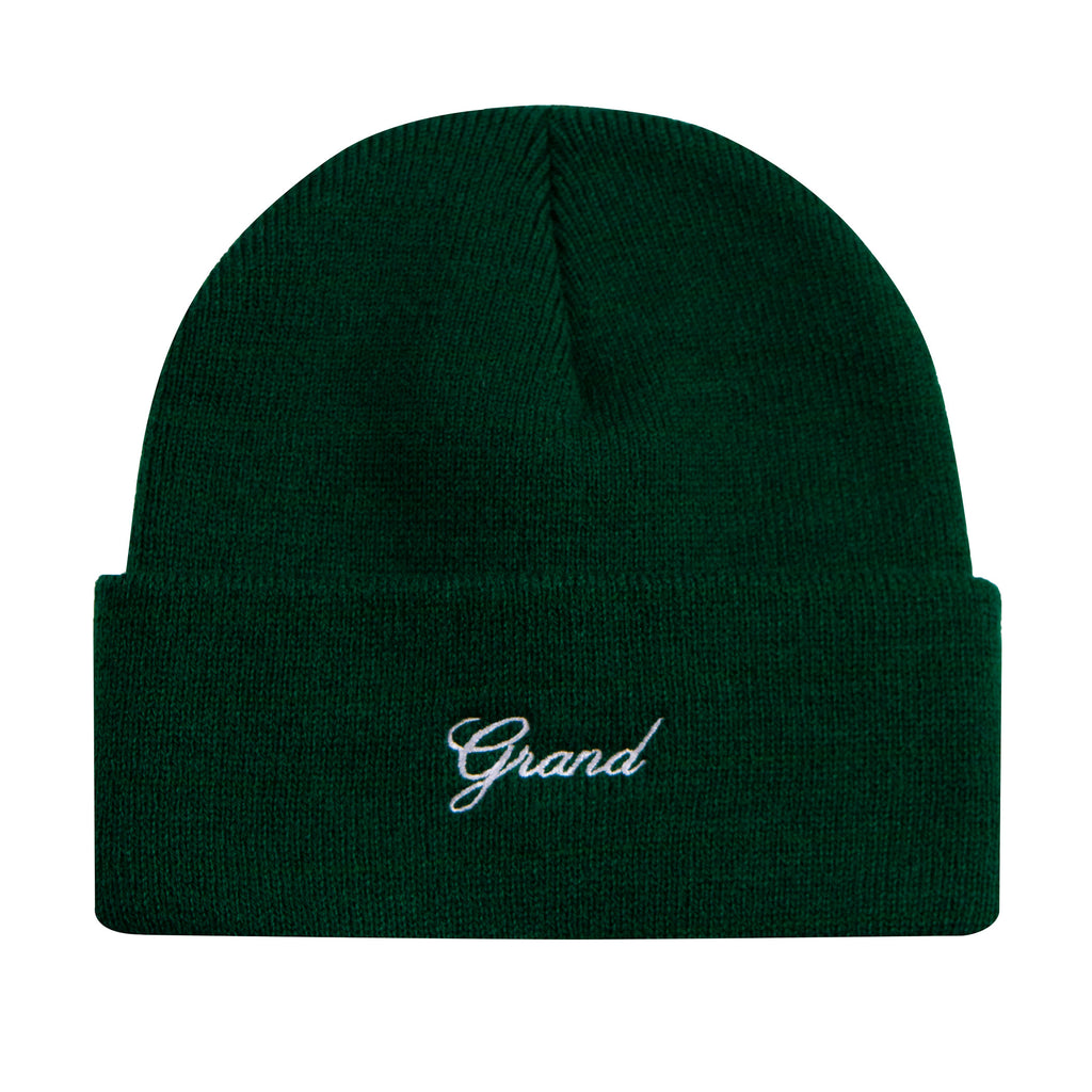 Grand Script Beanie Forest