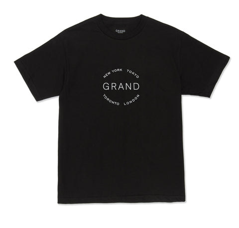 Grand Cities Tee Black