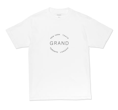 Grand Cities Tee White