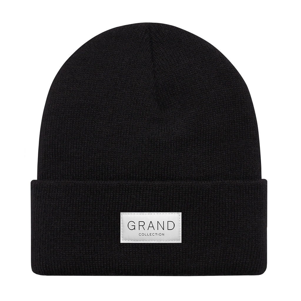 Grand Collection Cuffed Beanie Black