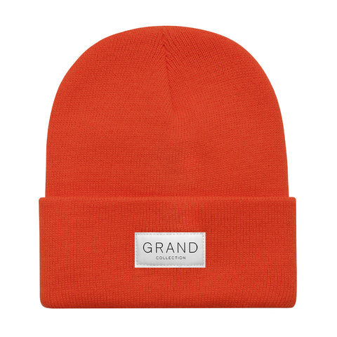 Grand Collection Cuffed Beanie Orange
