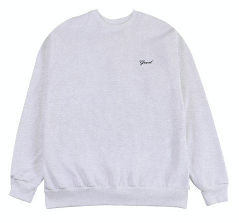 Grand Script Premium Crewneck Heather
