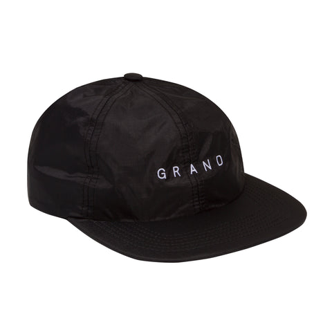Grand Nylon Ripstop Cap Black