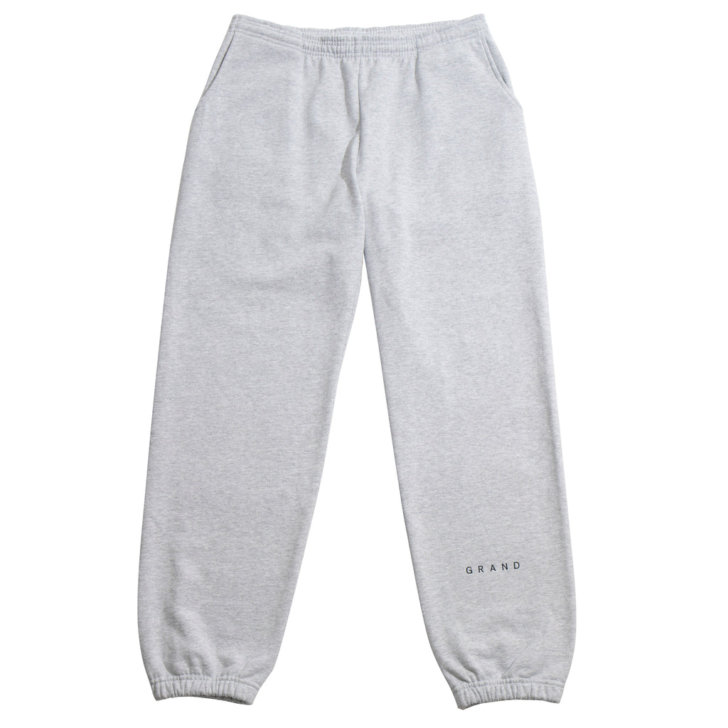Grand Embroidered Sweatpant Ash