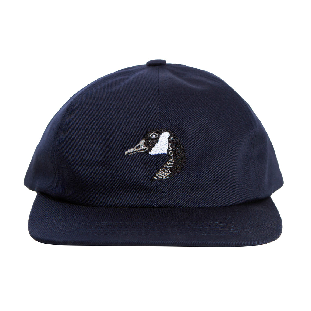 Goose Embroidered Cap Navy