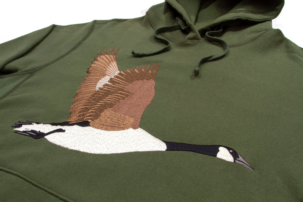 8befdb928e45 Goose Souvenir Embroidered Hoodie – Grand Collection