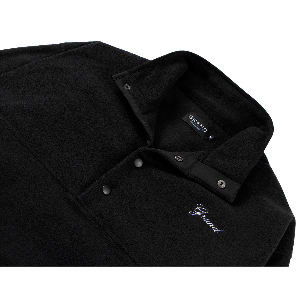 Micro Fleece Pullover Black