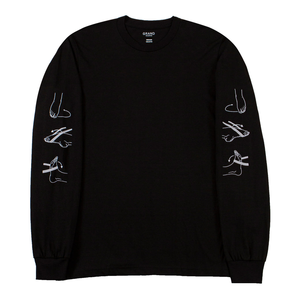 PT Long Sleeve Tee Black