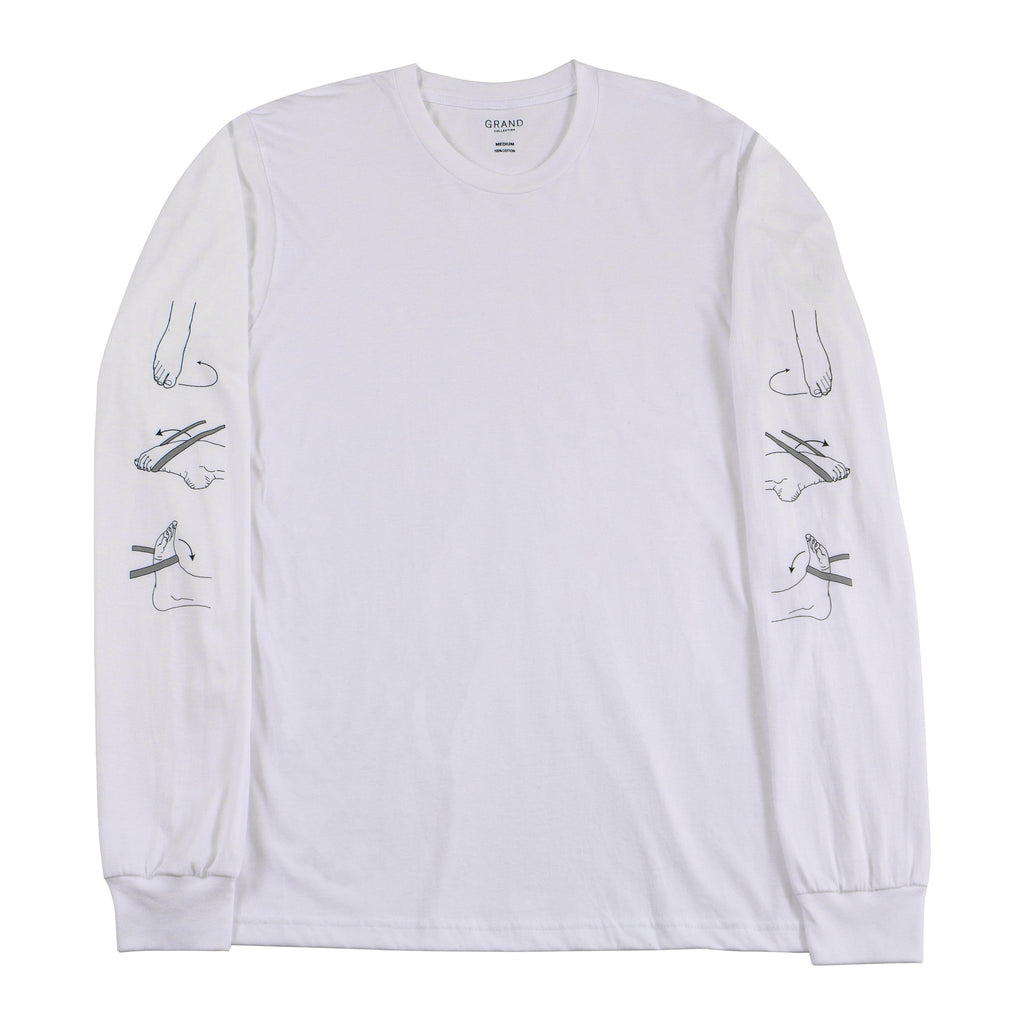 PT Long Sleeve Tee White