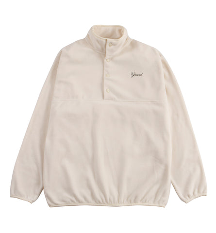 Micro Fleece Pullover Cream