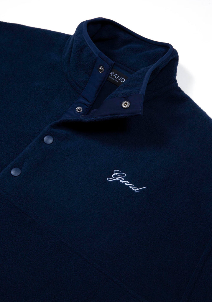 Micro Fleece Pullover Midnight Navy