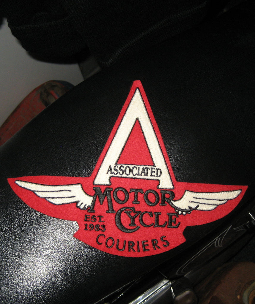 Associated Motorcycle Couriers Large Patch