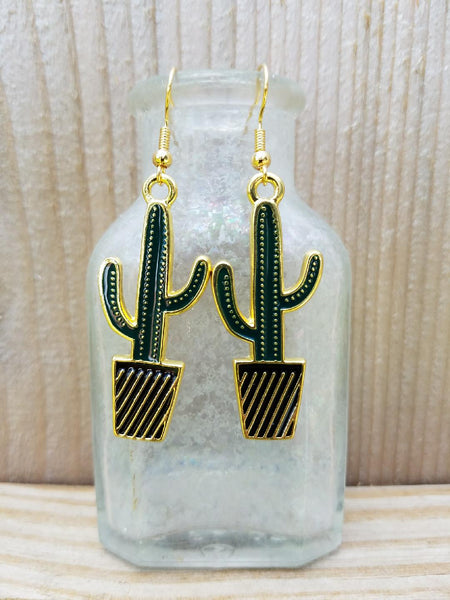 Cactus Earrings A