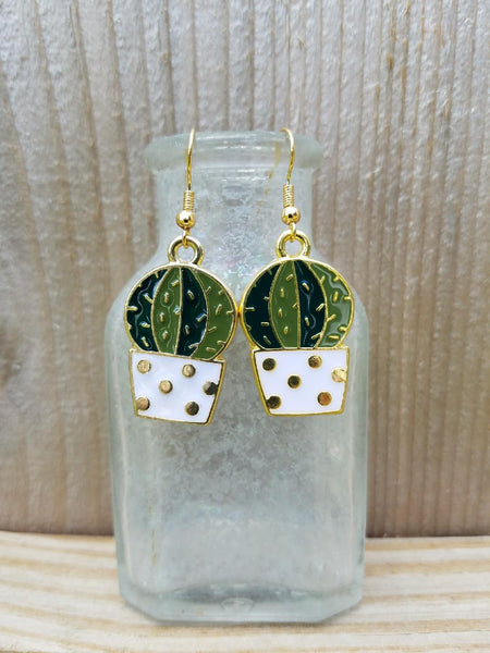 Cactus Earrings B