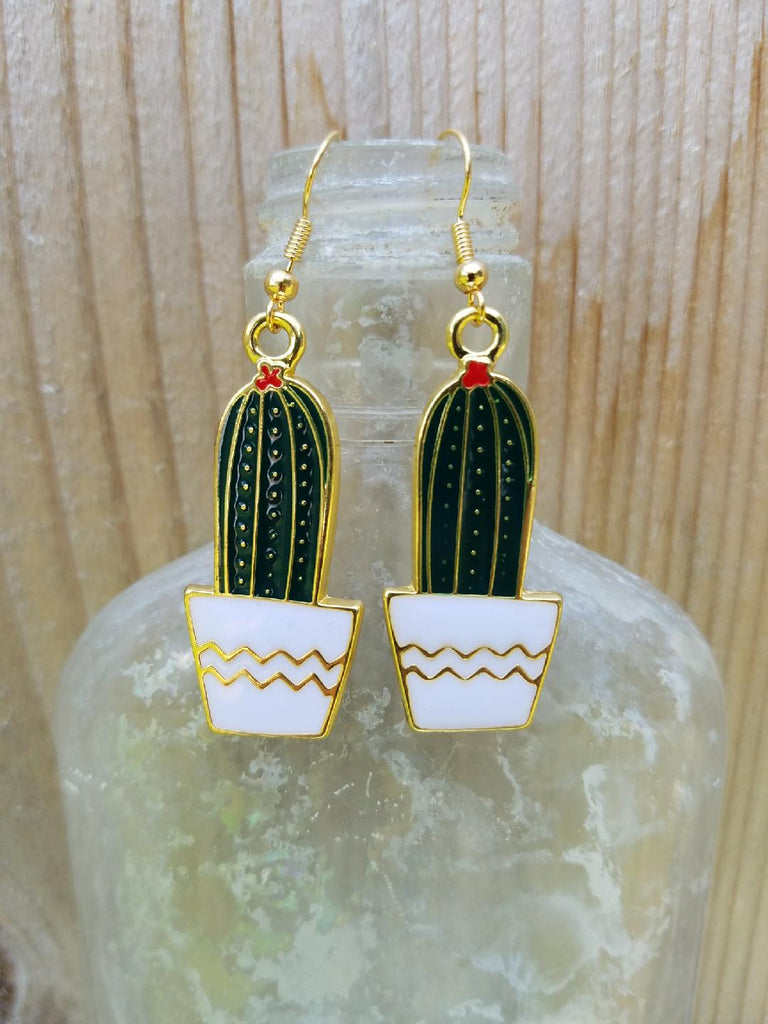 Cactus Earrings C