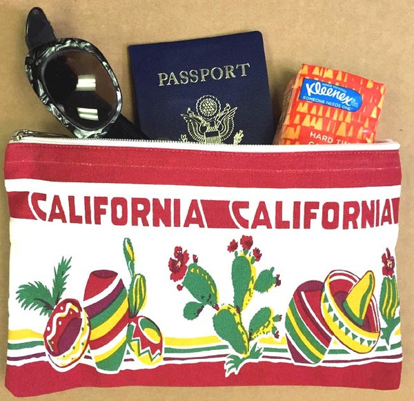 California Travel Pouch