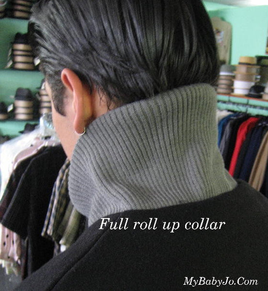 Car Club Clicker Vintage Stripe Black Jacket