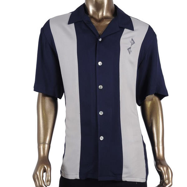 retro bowling shirt