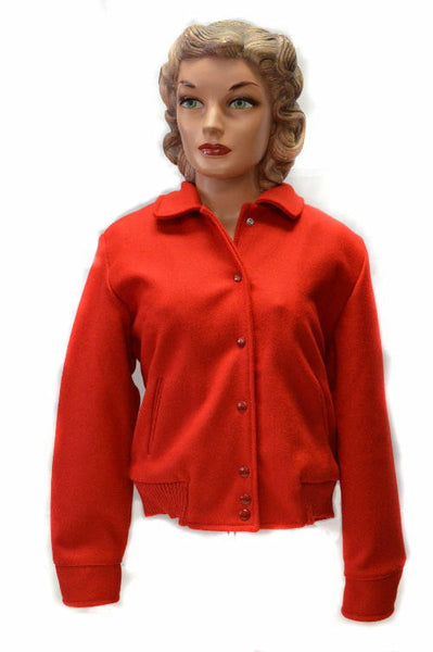 Ladies Car Club Jacket Red