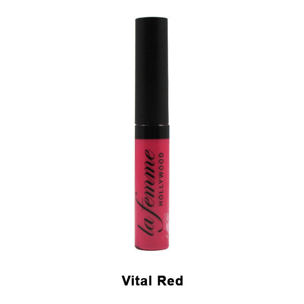 La Femme Hollywood Lip Stain ~ Vital Red