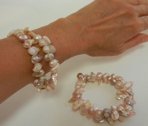 Dyed Cultured Pearl Moonglow Bracelet