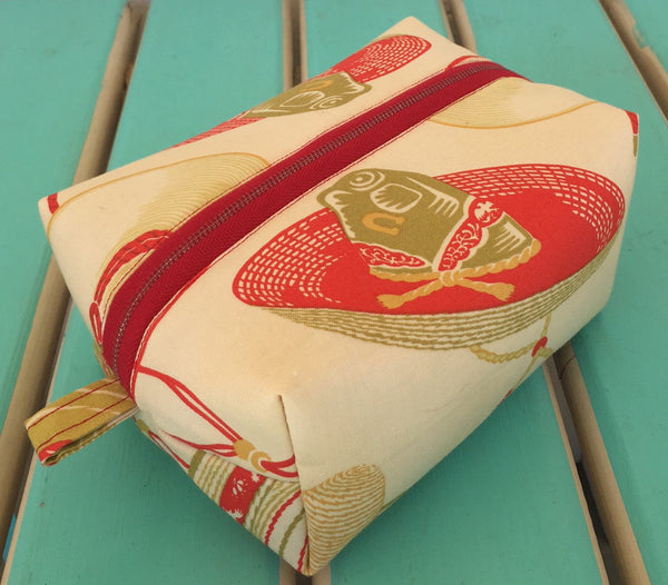 Sombrero Print MakeUp Bag