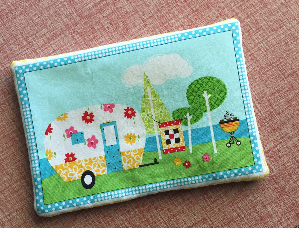 Floral Camper Trailer Trivet Pot Holder
