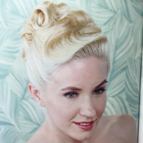 retro wedding hairstyles book