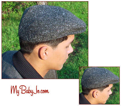 Contoured Ivy League Cap Black Speckle