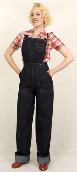Dungaree Doll Overalls