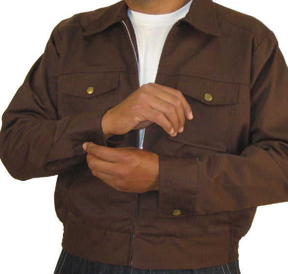 Service Station Jacket Brown