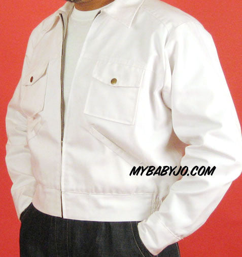 Service Station Jacket White