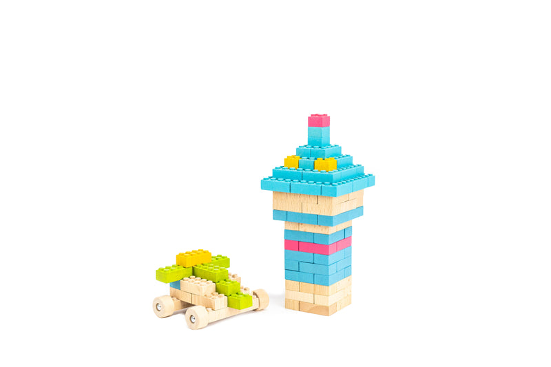ecobricks color 109 pcs build sets