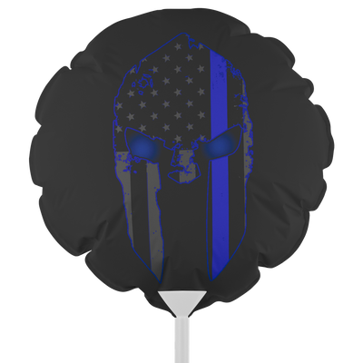 Thin Blue Line Spartan Balloon