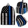 Thin Blue Line Flag Backpack