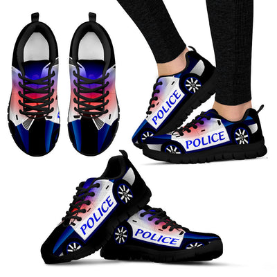 Police Car Style Sneakers - Styles for Kids and Adults
