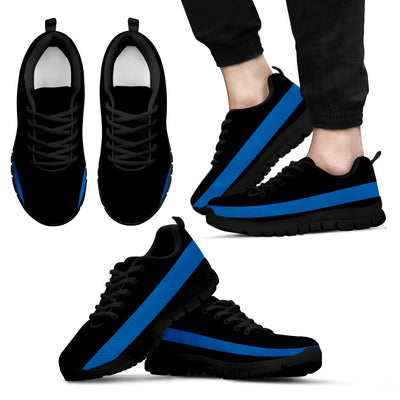 Thin Blue Line Sneakers