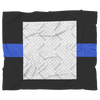 THIN BLUE LINE Personalized Blanket FRAME