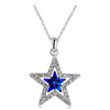 Police Law Enforcement Star Pendant Necklace