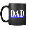 Thin Blue Line Dad Mug