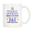 Police Officer By Day World's Best Dad By Night-Mug