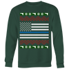 Thin Blue Line Flag Ugly Christmas Shirts & Sweaters