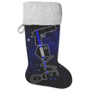 Thin Blue Line Love Christmas Stocking