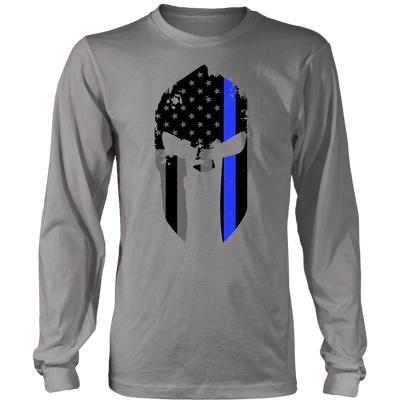 Thin Blue Line Spartan Shirts & Hoodies